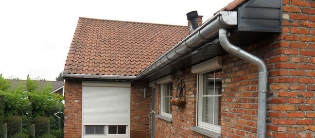 Renovatie dakgoten koper en zink Roeselare