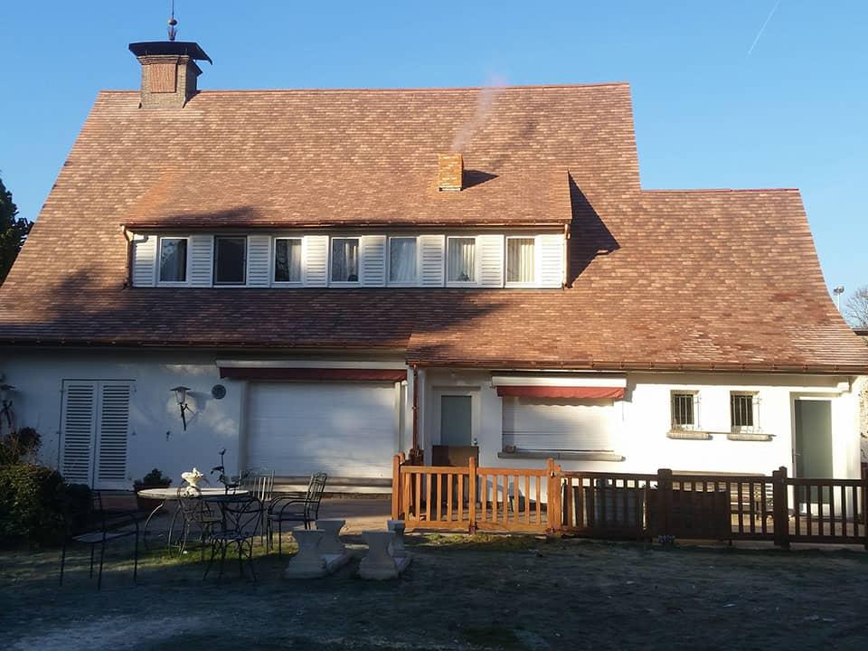 Dakwerken Depraetere renovatie dak leien - Waregem na2
