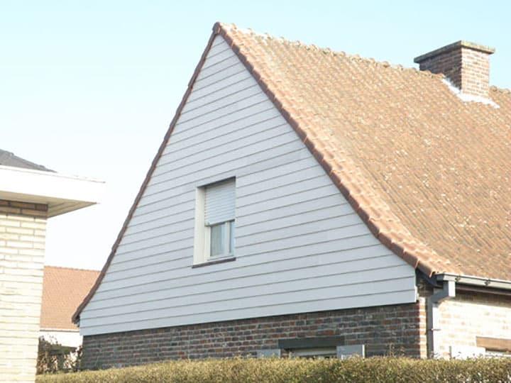 Gevelbekleding West-Vlaanderen