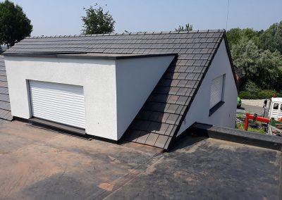 Dakrenovatie van leien dak naar Terreal Volay