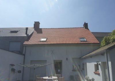 Dakrenovatie Deinze - nieuw dak nieuwe veluxen